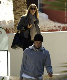 Tom Brady  Genetically-gifted couple Tom Brady and Gisele Bundchen took some alone time away from son, Benjamin, in Ibiza, Spain.