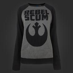 Rebel Scum Logo Intersia Sweater