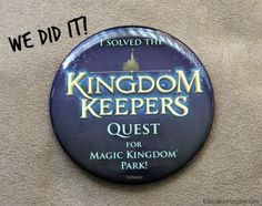 Kingdom Keepers Quests at Disney's Magic Kingdom - Education Possible
