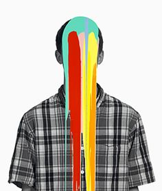 Vancouver Art Gallery: Douglas Coupland Brilliant Information Overload Pop Head, 2010 acrylic and epoxy on pigment print Collection of Lucia Haugen Lundin