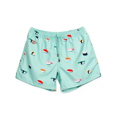 Jiro Nikben Swim Shorts Blue