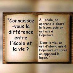 Tra me e me. Wisdom Quotes, True Quotes, Best Quotes, Quotes Francais, Positive Inspiration, French Quotes, Positive Attitude, Decir No, Quotations