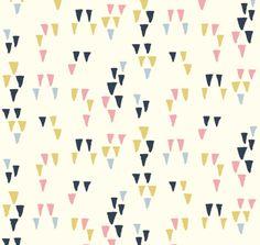 Birch Fabrics - Organic Cotton - Wildland - Arrowhead Cream - Poplin by the Yard