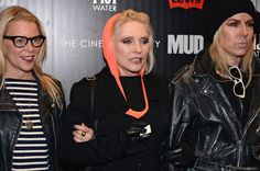 "Debbie Harry Photos - Debbie Harry (C) attends The Cinema Society With FIJI Water & Levi's screening of ""Mud"" at The Museum of Modern Art on April 21, 2013 in New York City. - Arrivals at the 'Mud' Screening in NYC"