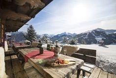 Chalet Bischoferalm Alpbach - Die Ruhe und Aussicht auf der Terrasse genießen