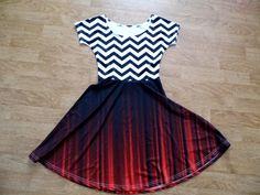 Twin Peaks black lodge dress