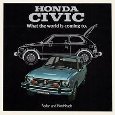 1975 Honda CIVIC Dealer Brochure I OldBrochures.com