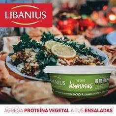Prepara exquisitas ensaladas con el toque de sabor de nuestro Veggie Hummus Alcachofa. ¡Te encantará!