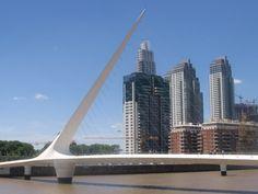 Buenos Aires - Calatrava Bridge