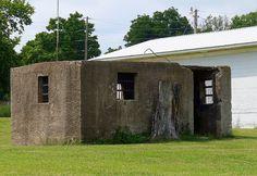Old Jail in Burbank, Oklahoma. Photo by Bob Weston