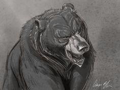 Aaron Blaise - Aaron Blaise ha añadido 2 new photos. Rudyard Kipling Jungle Book, White Art, Black And White, Bear Drawing, Anime Animals, Bear Art, Animal Drawings, Drawing Animals, Traditional Art