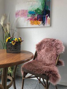 Fine Dining, Patio, Sheepskin Rug, Chair Pads, Ad Home, Deco