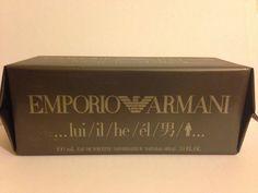 PROFUMO ARMANI EMPORIO LUI / IL /HE /EL UOMO 100ML EDT MAN REGALO OCCASIONE