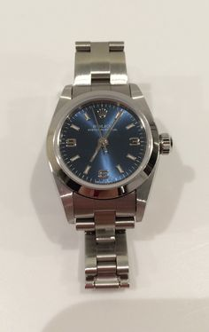 Rolex ladies small 26mm Oyster Perpetual 76080   Whoops.  I just bought this.  :)