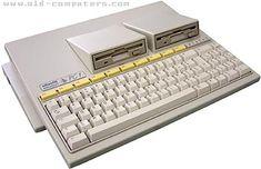 Olivetti mi primer pc, 8 mhz y 512 Kb de pura potencia bruta. Micro Computer, Home Computer, Computer Technology, Computer Keyboard, Retro Arcade Machine, Home Tech, Old Computers, Computer Hardware, Old Tv
