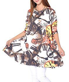 ELLAZHU Women Baggy Colourful Clock Print Knit Pullover Dress Onesize SZ08 White ELLAZHU http://www.amazon.co.uk/dp/B00PBZZLVM/ref=cm_sw_r_pi_dp_iT2Ywb1Q5G1PP