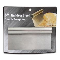 Stainless Steel Dough Scraper Handle Cutter Pastry Blade Pizza Kitchen Cake Tool by ATB, http://www.amazon.com/dp/B00AECMDEA/ref=cm_sw_r_pi_dp_GZ94rb18JKSJA
