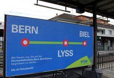 Der Bus, Bern, Request For Proposal, Frame, Poster