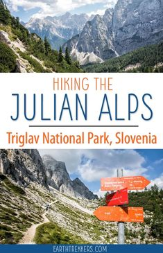 Hiking the Julian Alps of Slovenia: Vrši? Pass to Sleme and Slemenova Špica : The hike to Sleme and Slemenova Spica is a great hike in Triglav National Park, Julian Alps, Slovenia. Hiking Europe, Europe Travel Tips, European Travel, Travel Guides, Travel Destinations, Budget Travel, Visit Slovenia, Slovenia Travel, Cheap Places To Travel