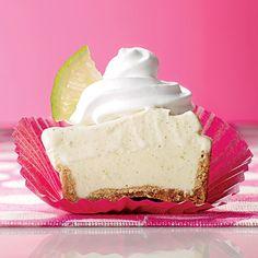 Nut-Crusted Key Lime Ice Cream Cupcakes - 5 Ways to Use Vanilla Ice Cream - Coastal Living