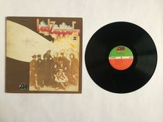Led Zeppelin - II (2)_Vinyl Record  LP_(SD 8236)