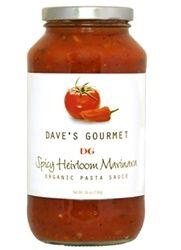 Dave's Spicy Heirloom Marinara Pasta Sauce 12/26 oz $7.89