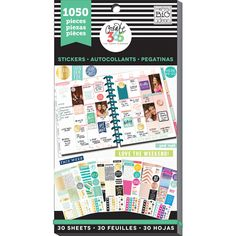 Purchase the Create 365™ The Happy Planner™ Value Pack Stickers, This Colorful Life at Michaels.com. Get this sticker value pack from Me & My Big Ideas for your planners and scrapbooks.
