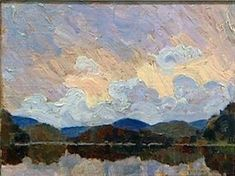 Tom Thomson (Group of Seven) painting found at garage sale Canadian Painters, Canadian Artists, Nocturne, Landscape Art, Landscape Paintings, Group Of Seven Paintings, Tom Thomson Paintings, Impressionist Paintings, Oil Paintings