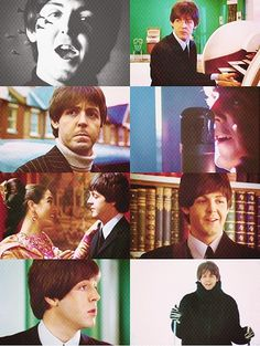 Paul McCartney Help! collage