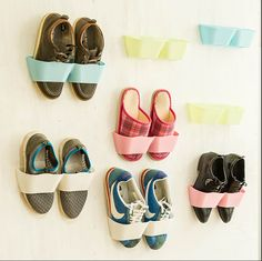Shop our best value Hanging Shoe Rack on AliExpress. Check out more Hanging Shoe Rack items in Home & Garden, Shoe Racks & Organizers, Furniture, Sports & Entertainment! And don't miss out on limited deals on Hanging Shoe Rack! Diy Storage Rack, Hanging Shoe Storage, Hanging Shoe Organizer, Hanging Shoes, Storage Ideas, Shoes Organizer, Wall Shoe Rack, Shoe Hanger, Diy Shoe Rack