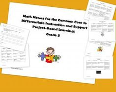 Math Menus to Support the Common Core: Third Grade Hurry up! This giveaway promotion ends at 11:59:59PM CST on 09-27-2012