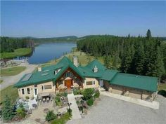 Real Estate Listings by Sotheby's International Realty Canada, Canmore and Banff, Kananaskis, Big Horn, Country Magazine, Heaven On Earth, Banff, Rocky Mountains, Waterfall, Real Estate, Canada, Mansions, House Styles