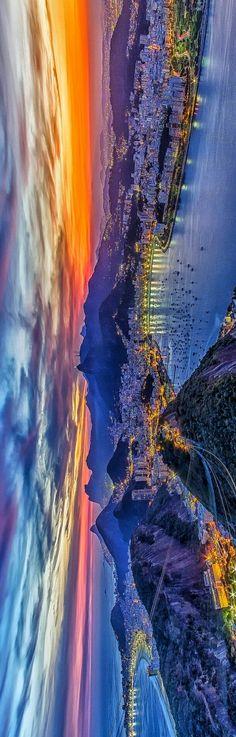 Sunset - RIO DE JANEIRO BRAZIL #riodejaneiro #brazil #night #sky #clouds #thestorm #harbor #gulf #sunset