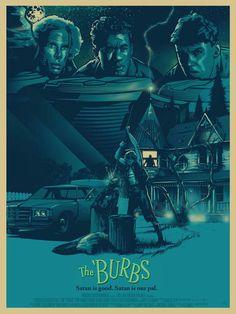 The Burbs Alternative movie poster