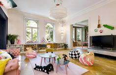 Den här lägenheten är inget för fegisar – kolla in färgsprakande hemmet! - Sköna hem