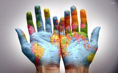 Fotograf My hands, my world! Ap World History, Modern History, History Memes, Third Culture Kid, World Map Wallpaper, Respect Quotes, Wanderland, Best Cities, Study Abroad