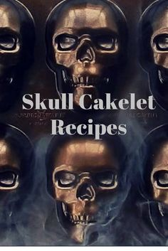 Try these 5 spooky skull cakelet recipes for all your Halloween festivities! Halloween Food For Party, Halloween Cupcakes, Halloween Season, Holidays Halloween, Halloween Treats, Halloween Foods, Spooky Treats, Halloween Desserts, Favorite Holiday
