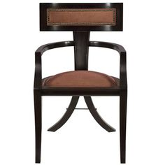 Greek Peak Arm Chair