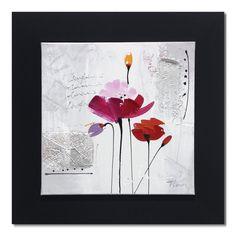 tableau fleurs alinea
