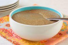 Heart Healthy Vegan Mushroom Gravy - Foodista.com