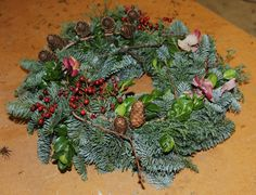 billede3 Flora, Succulents, Wreaths, Plants, Christmas, Dekoration, Door Wreaths, Succulent Plants, Deco Mesh Wreaths