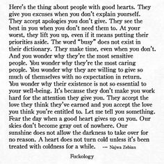 empath vs narcissist...fear the day her heart turns cold, because it didn't happen overnight.