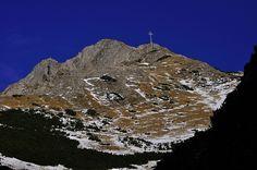 Mount Giewont (Tatras, Poland).