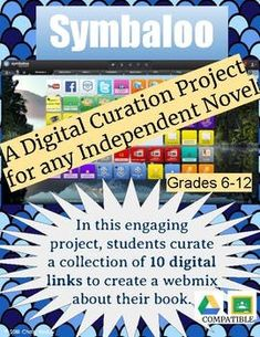 Ditch the old book report and focus on digital literacy instead! Ask your students to curate ten digital links that support their independent novel. They will write a summary, an analysis, create a word cloud, find a review, share a video, etc. My students were very engaged with this project and it motivated them to read their