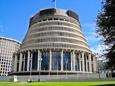 New Zealand Parliament, Wellington South Pacific, Pacific Ocean, State Of Arizona, Beehive, Pavilion, Journal Ideas, Uni, Places Ive Been, Destinations