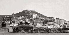 Vista del Monte de El Castro, antes de la década de los 50.