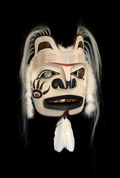 The Old One: Ancestor Bear Mask - George Hunt Jr.