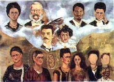 Portrait of Fridas Family, Retrato de la Familia de Frida, Frida Kahlo, C0590