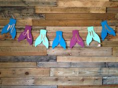 Personalized mermaid tail banner