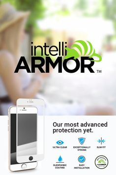 Live life in the fast lane? Then check out the awesome #IntelliGlass iPhone screen protectors from #IntelliArmour. Click to buy yours today!